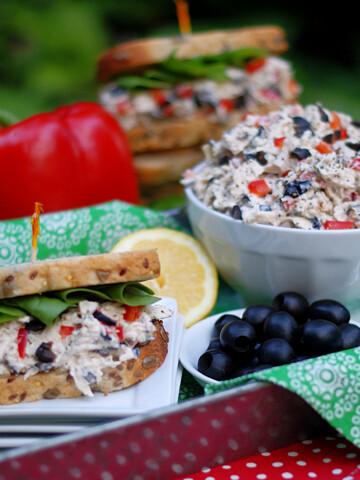 Chicken Salad and Chicken Salad sandwich