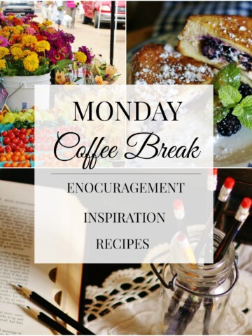 Monday Coffee Break Title Collage