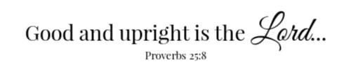 Proverbs 25:8