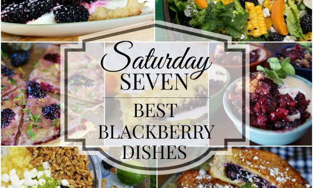 Saturday 7- Best Blackberry Dishes