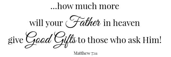 BLT Quiche Scripture Matthew 7:11