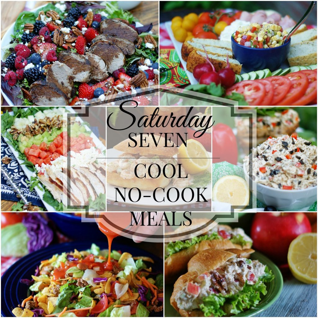 Cook Something Easy And Fast: Saturday Seven- No Cook Meals