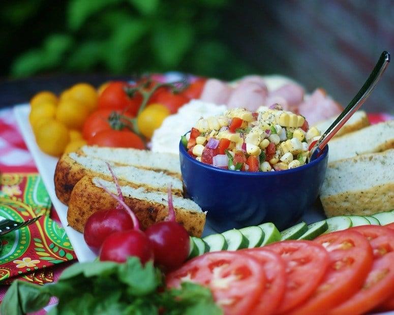 Fresh Summer Vegetable Platter