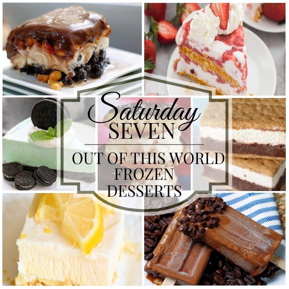 Frozen Desserts Title Collage