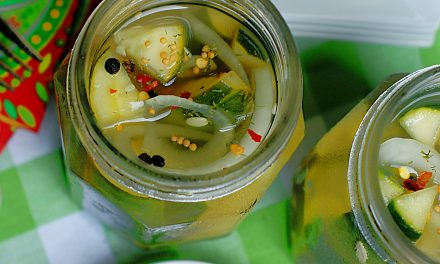 Lemonade Refrigerator Pickles