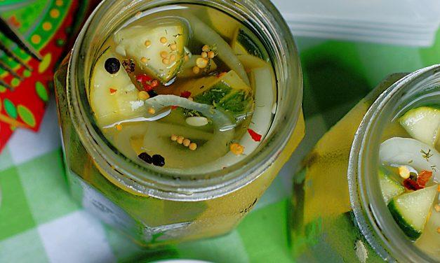 Lemonade Refrigerator Pickles