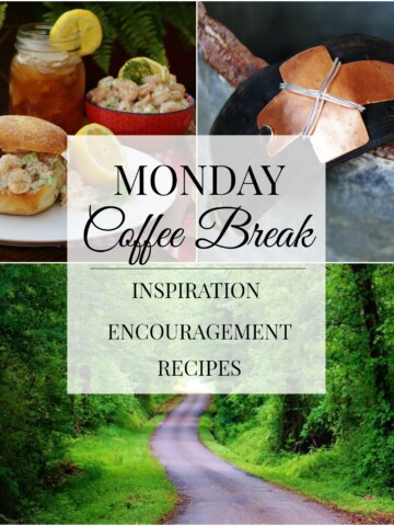 Coffee Break Title Collage