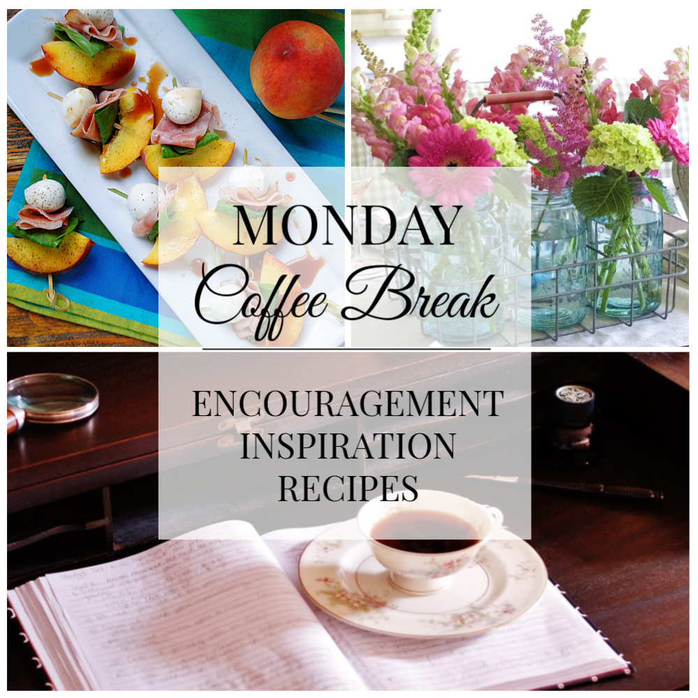 Monday Coffee Break #46 Title Collage