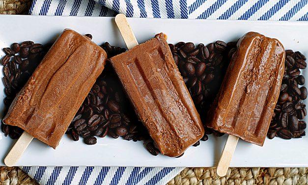 Creamy Mocha Popsicles