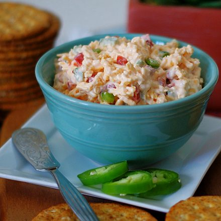 Pimento Cheese with jalapenos