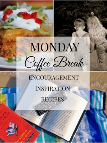 Monday Coffee Break #44 Title Collage