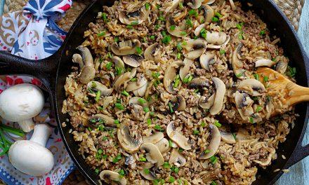Beef & Mushroom Rice