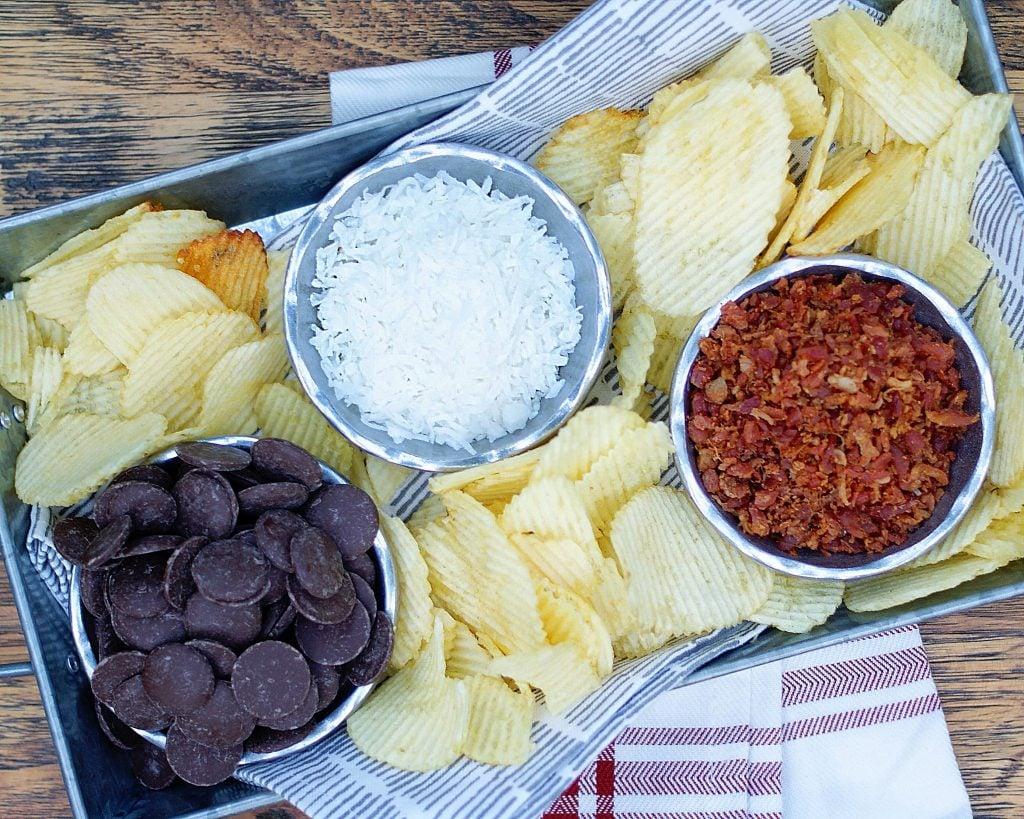 Chocolate Potato Chips Ingredients