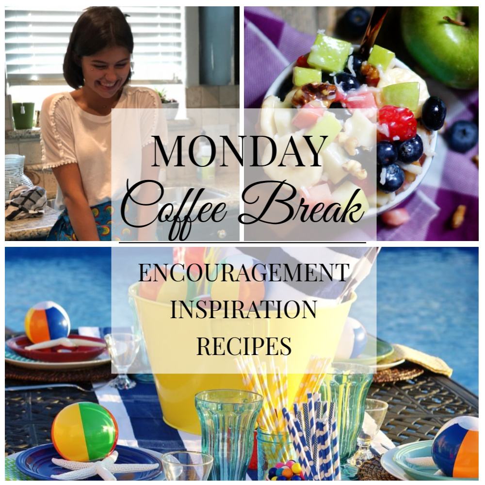 Monday Coffee Break #48 Title Collage