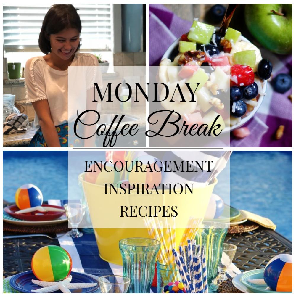 Monday Coffee Break #48 Title Collage