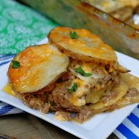 Meat and Potatoes Ranch Au Gratin Recipe