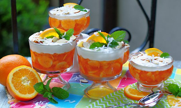 Tropical Orange Jello Salad