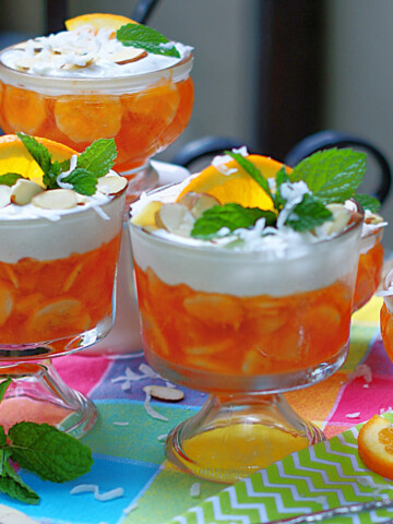 Orange Jello Salad Title