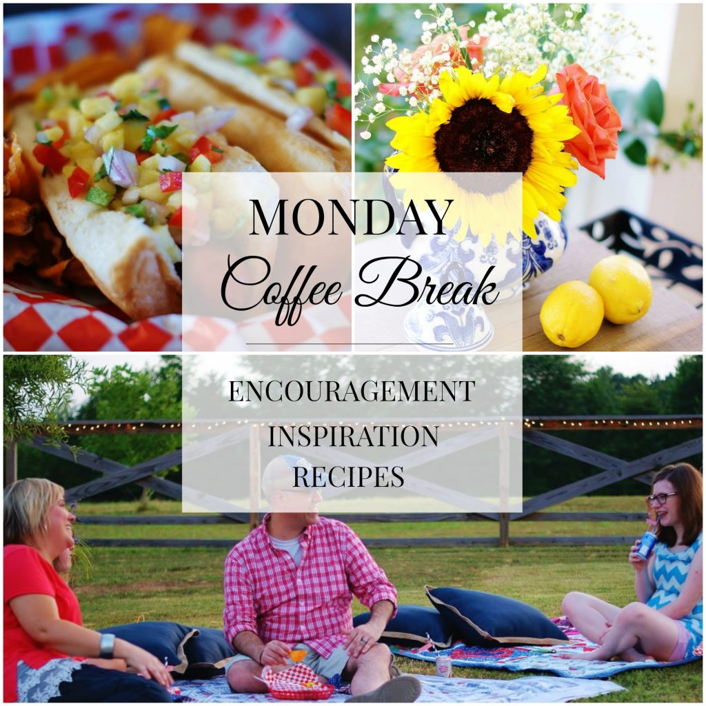 Monday Coffee Break #49 Title Collage