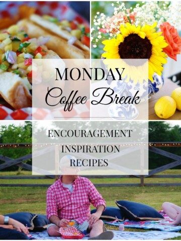 Monday Coffee Break #49 Title Collage
