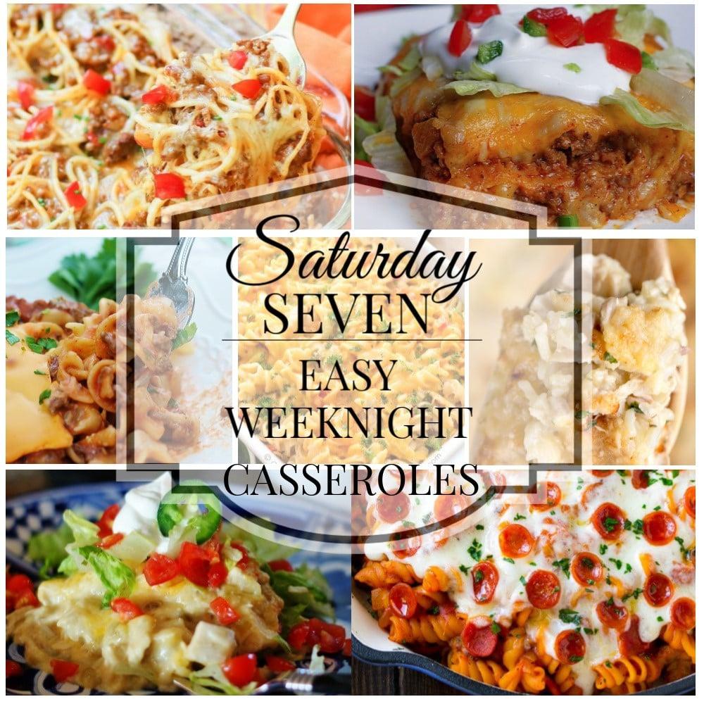 Saturday 7 Title Collage