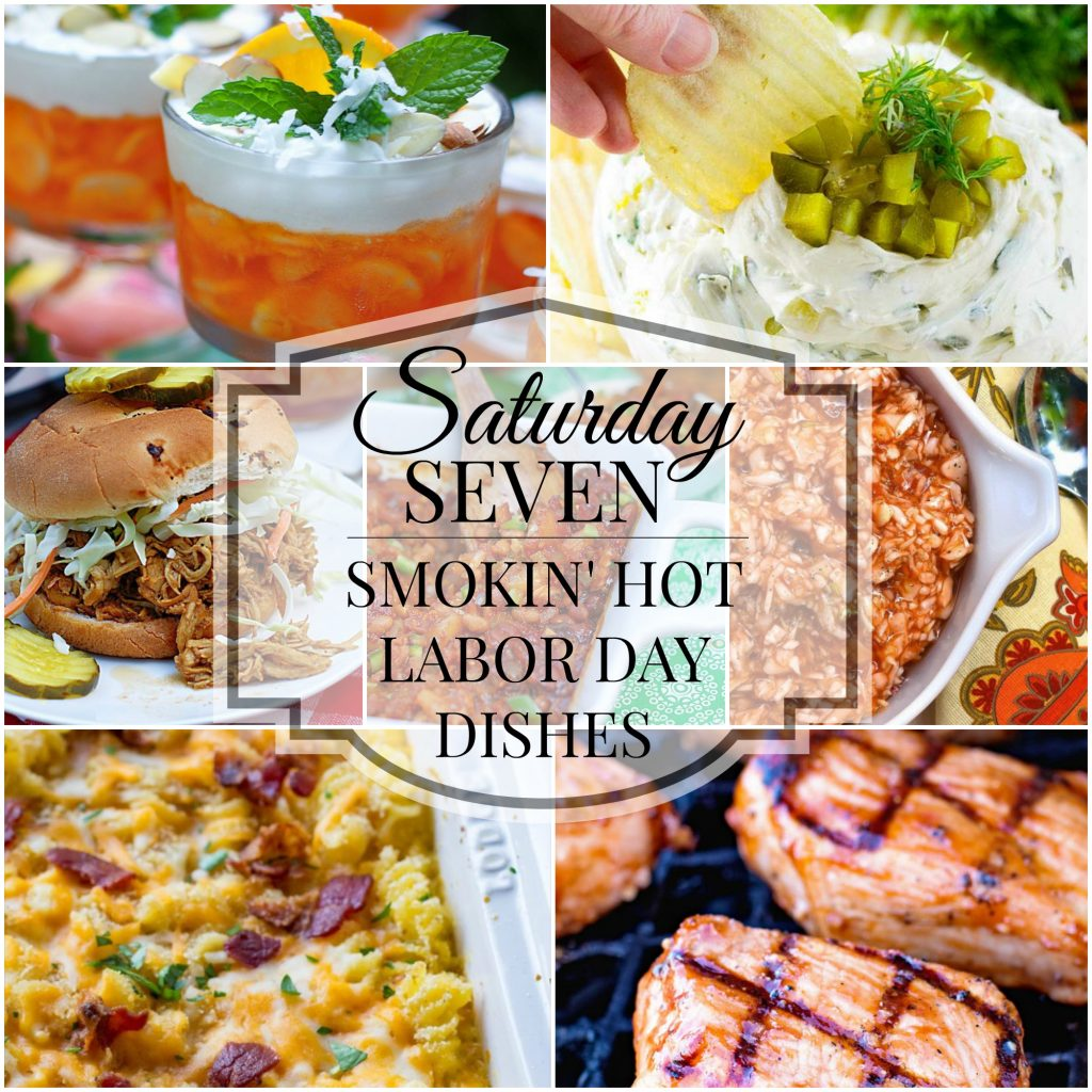 Labor Day Recipes Title Collage