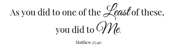 Brussel Sprouts Scripture Matthew 25:40