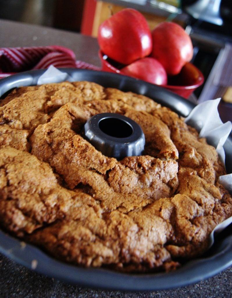Apple Cake in a Bundt Pan