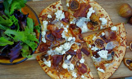 Bacon Fig Pizza