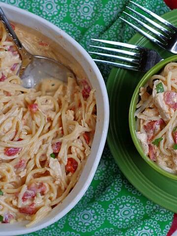 Chicken & Spaghetti Title