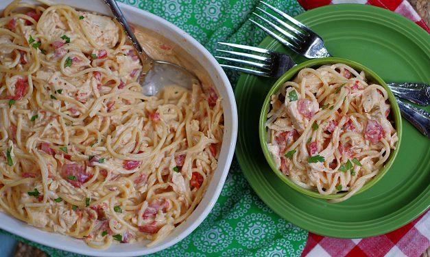 Rotel Chicken & Spaghetti