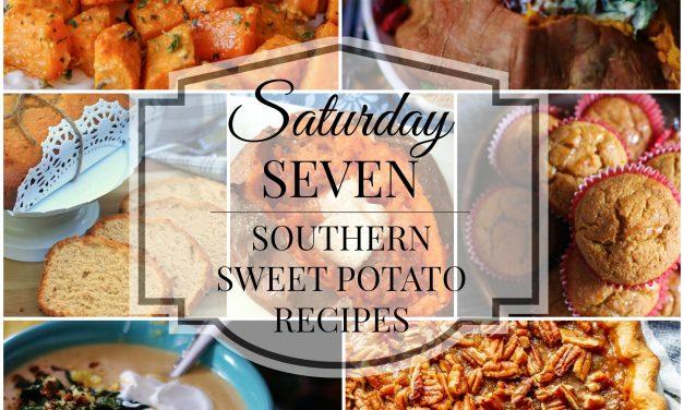 Saturday Seven- Southern Sweet Potato Recipes