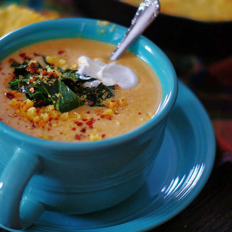 Southern Sweet Potato Soup