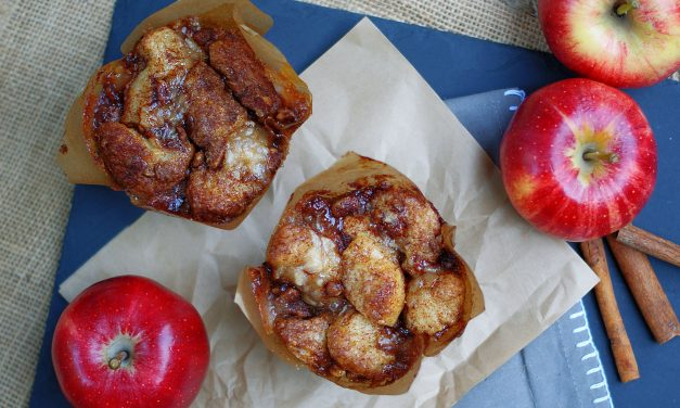Cobblestone Apple Muffins