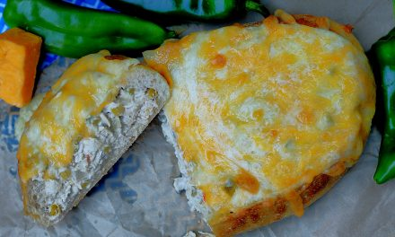 Green Chile Chicken Stuffed Bread
