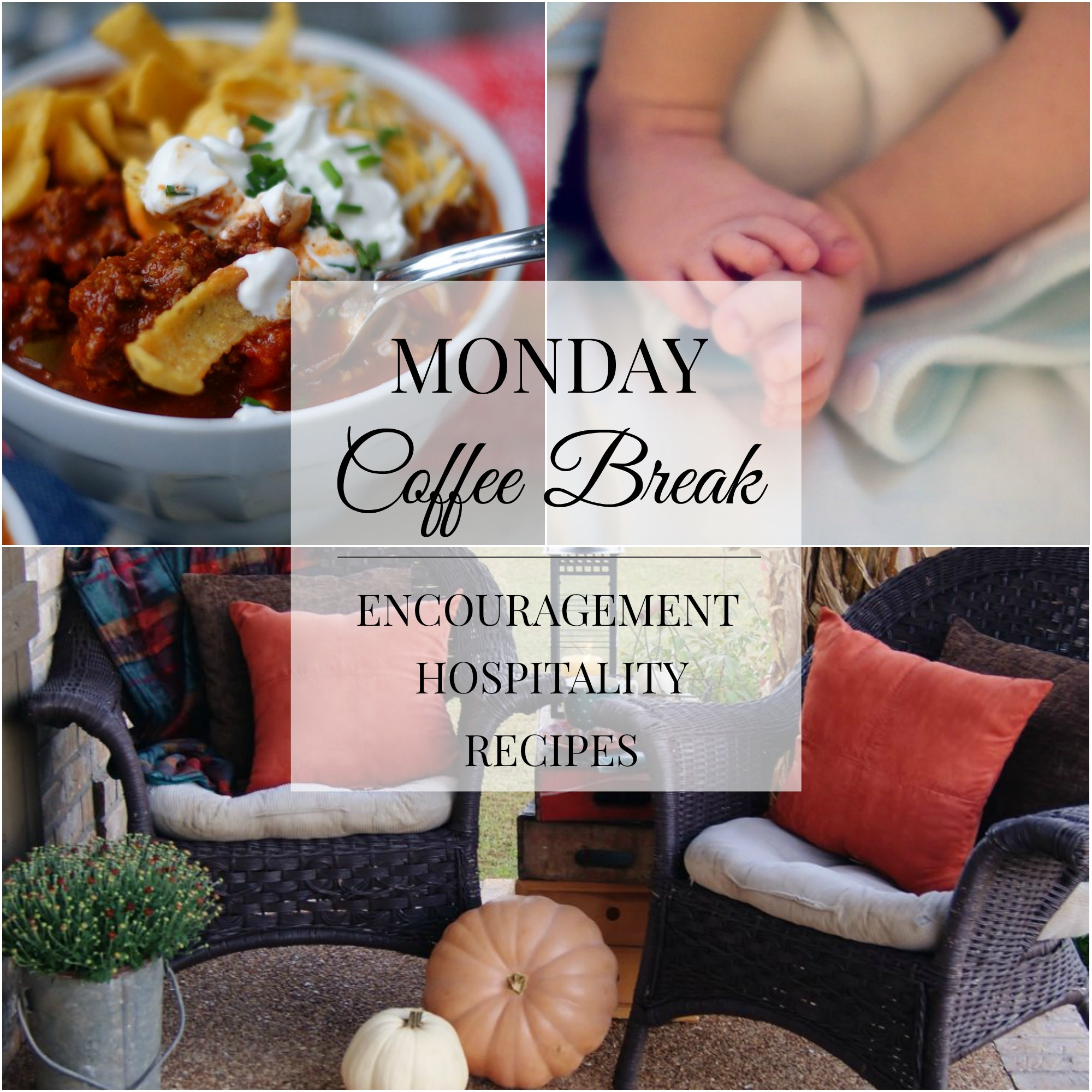 Monday Coffee Break #54 title collage