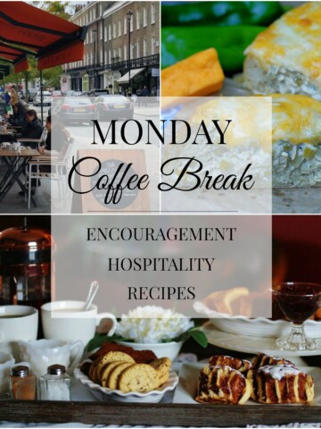 Monday Coffee Break 55 Title Collage