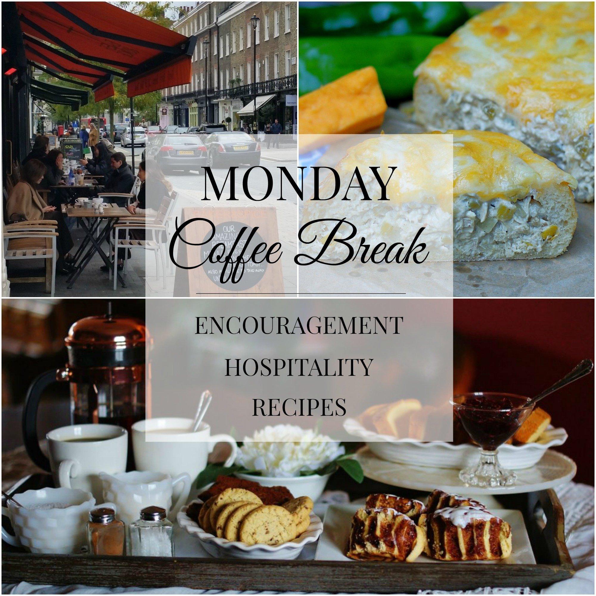 Monday Coffee Break 55 Title Collage
