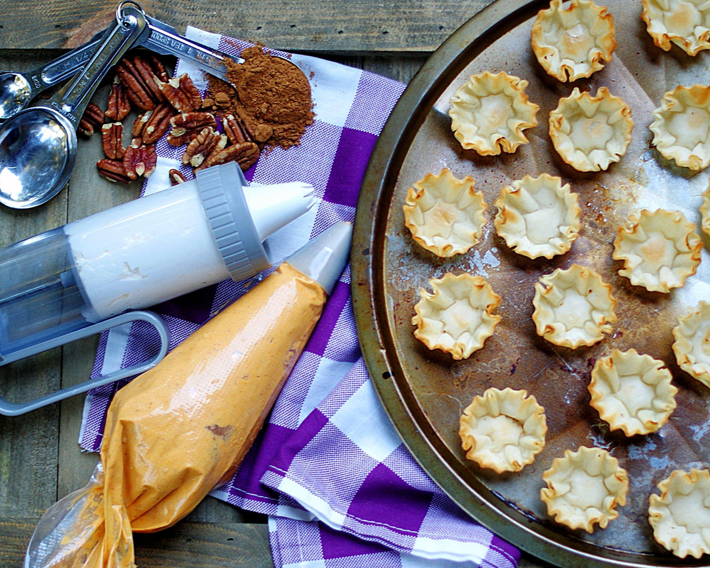 no bake pumpkin pie bites ingredients