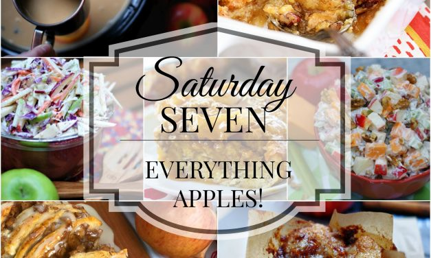 Saturday Seven- Everything Apples!