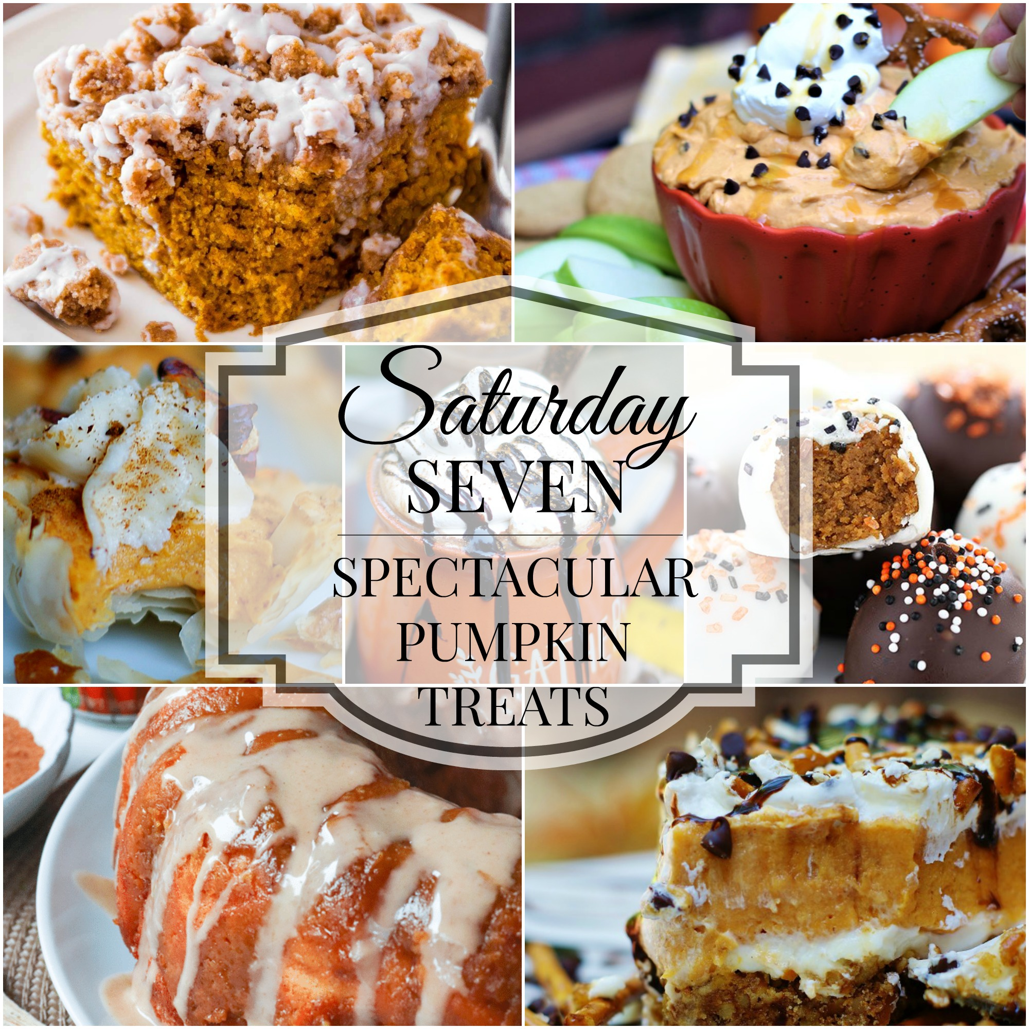 Saturday 7 pumpkin treats desserts collage