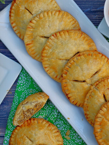 Sausage & Cream Cheese Hand Pies Title