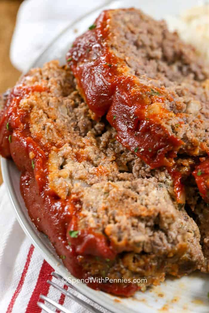 The BEST Meatloaf Recipe We've Ever Had!