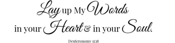 Loaded Sweet Potato Skins scripture- Deuteronomy 11:18