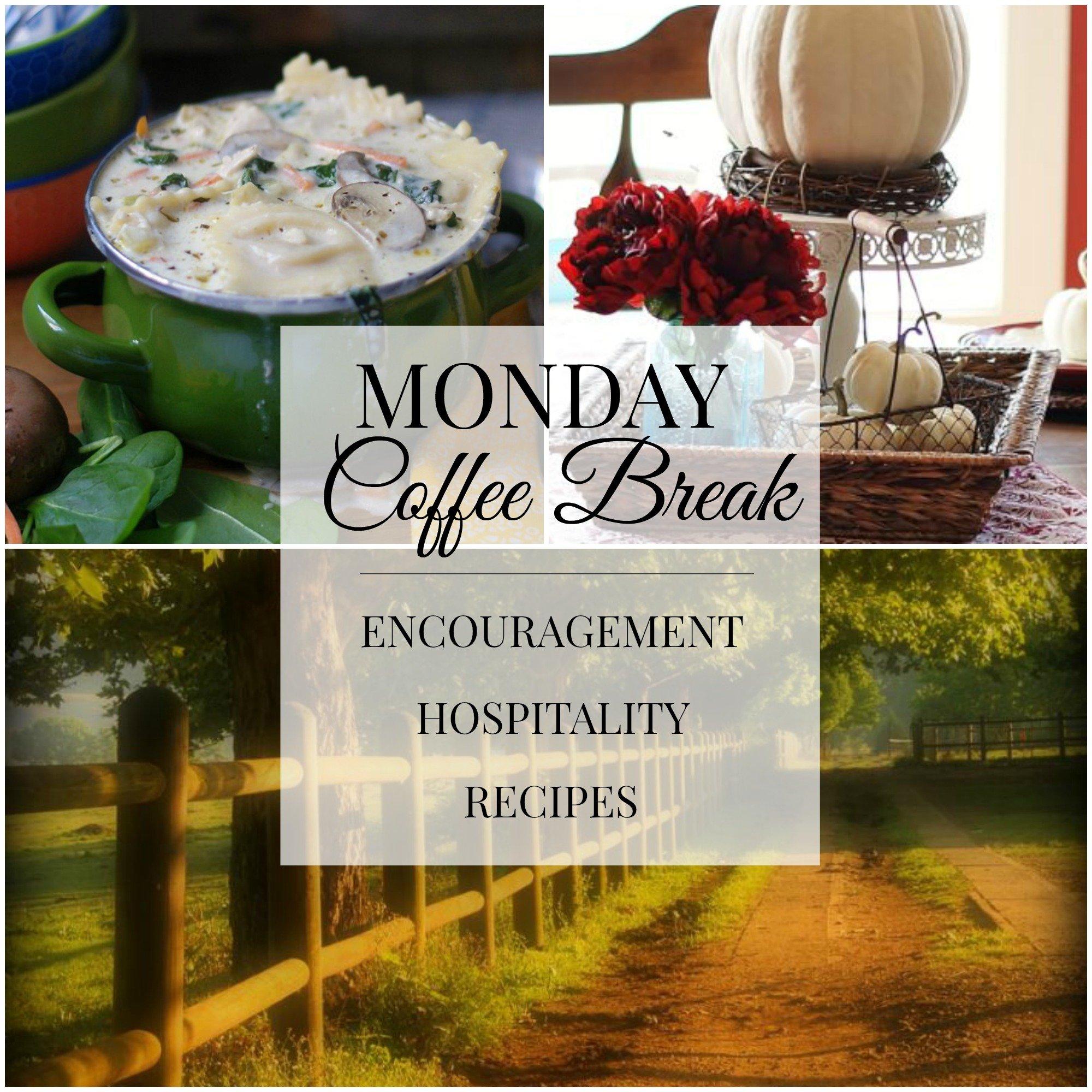 MOnday Coffee Break #57 Title Collage