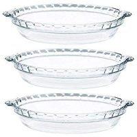 Pyrex - 9.5 Glass Pie Plates