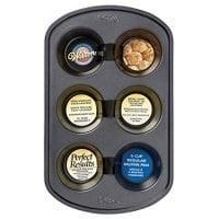 Wilton Perfect Results Premium Non-Stick Bakeware Muffin Pan, 6-Cup