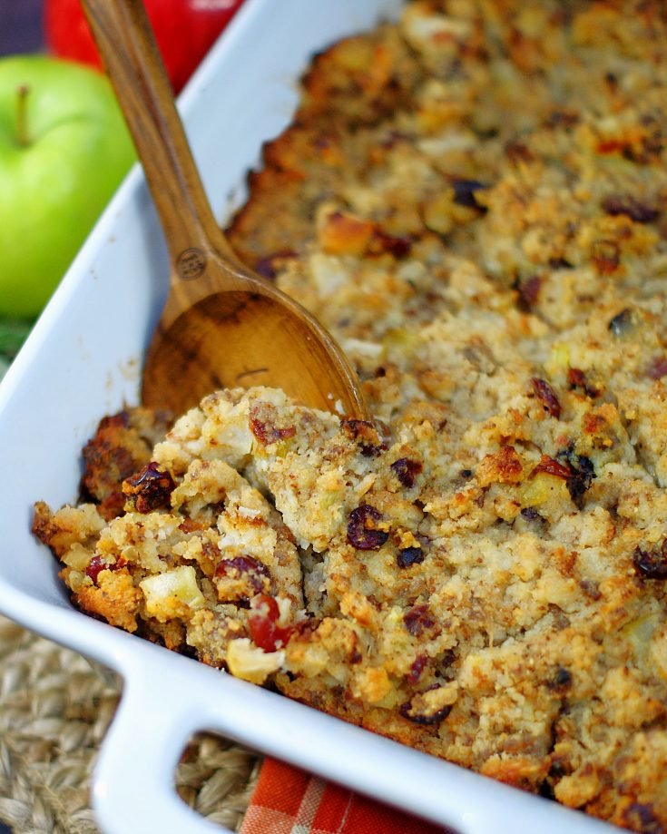 Sausage Apple Cranberry Dressing