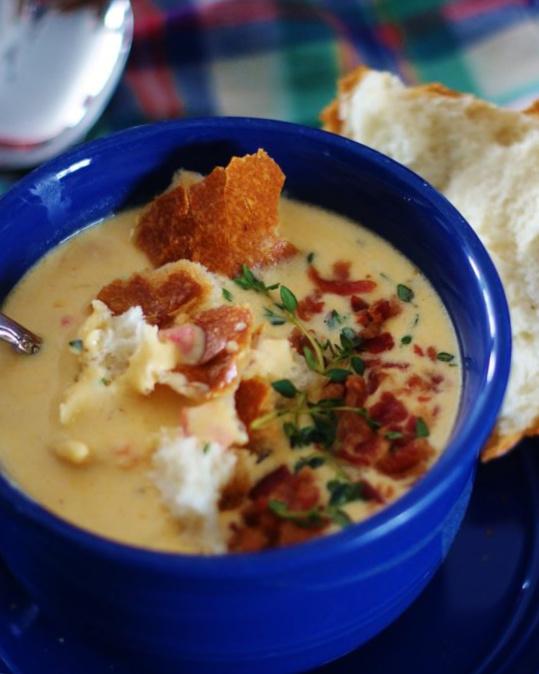 Farmhouse Cheese Soup