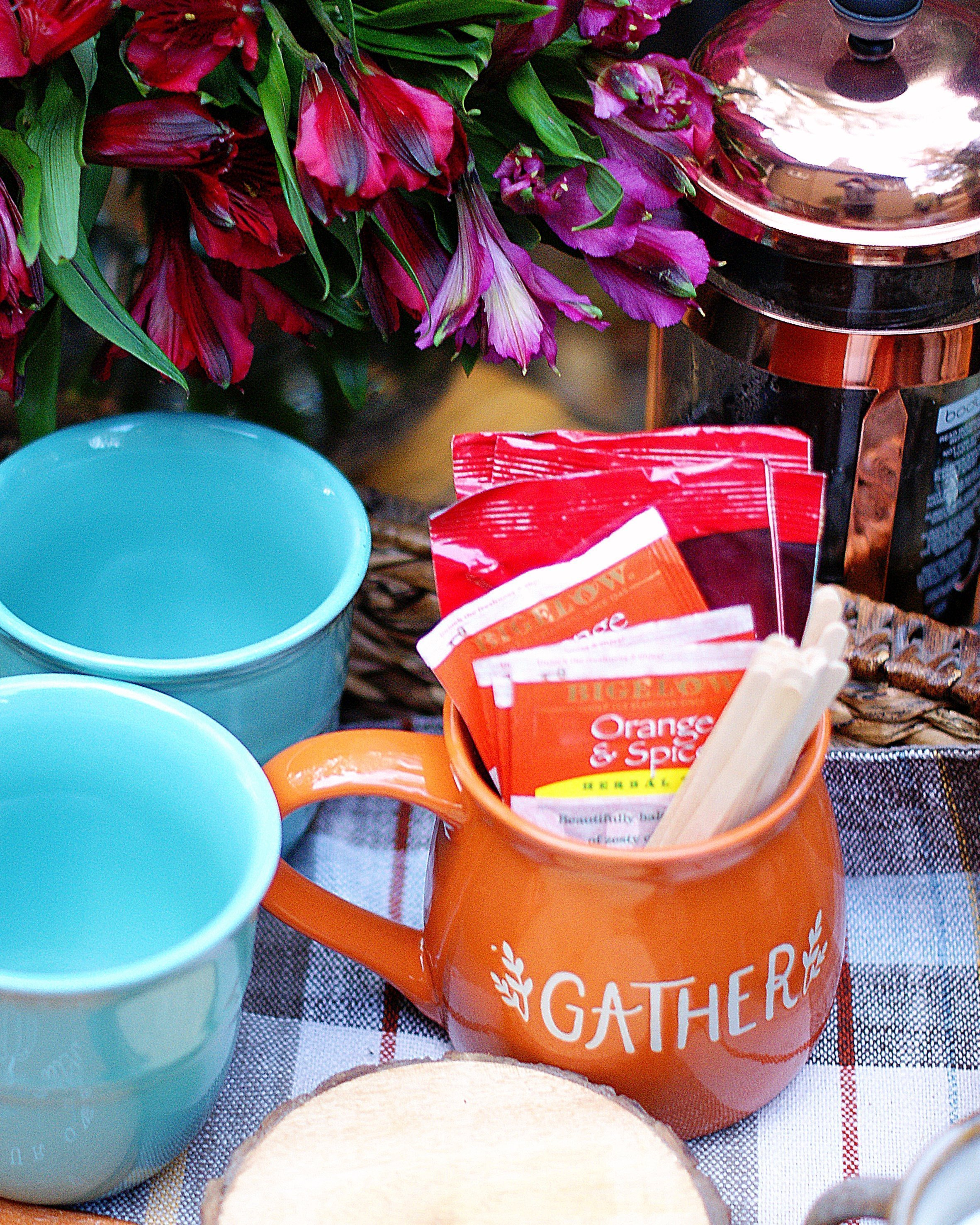 Coffee Station Teas & Hot Chocolate
